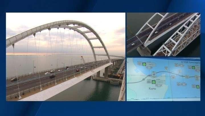 ГИБДД выявили самую главную причину нарушения ПДД на Крымском мосту