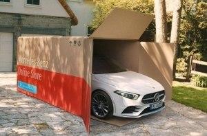 «Benz в коробке»: Mercedes занялся доставкой своих авто
