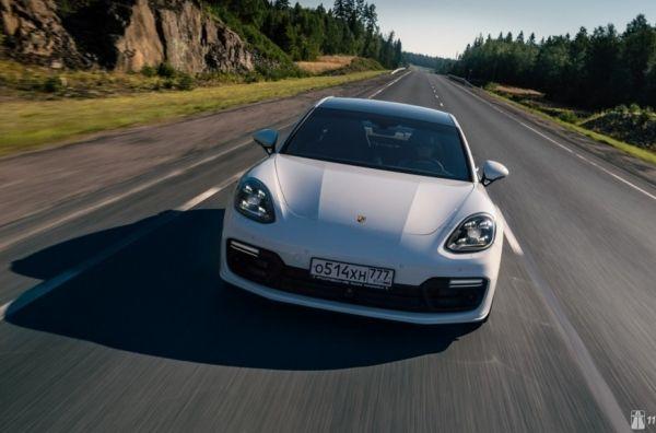 С электричеством на подхвате. Porsche Panamera Turbo E-Hybrid Sport Turismo