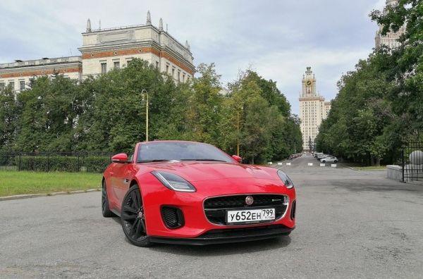 Жесткач. Jaguar F-Type