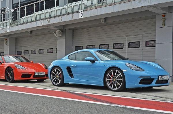 Дорогой дедушка мороз, хочу…. Porsche 718 Cayman