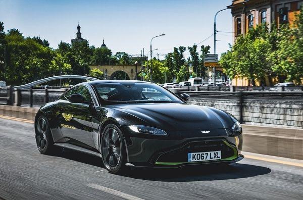 Ярость в металле. Aston Martin Vantage