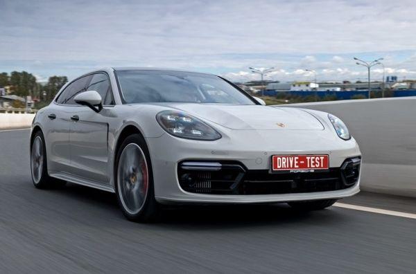 Ищем туризм в универсале Porsche Panamera Turbo Sport Turismo. Porsche Panamera Turbo Sport Turismo