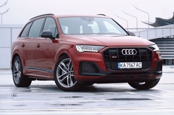 Audi SQ7. Когда нужно что-то особенное. Audi SQ7