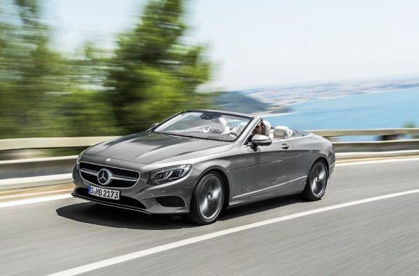 Благодарным наследникам. Mercedes S-Class Cabriolet (A217)