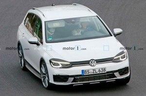 Volkswagen превратит Golf R в кроссовер?