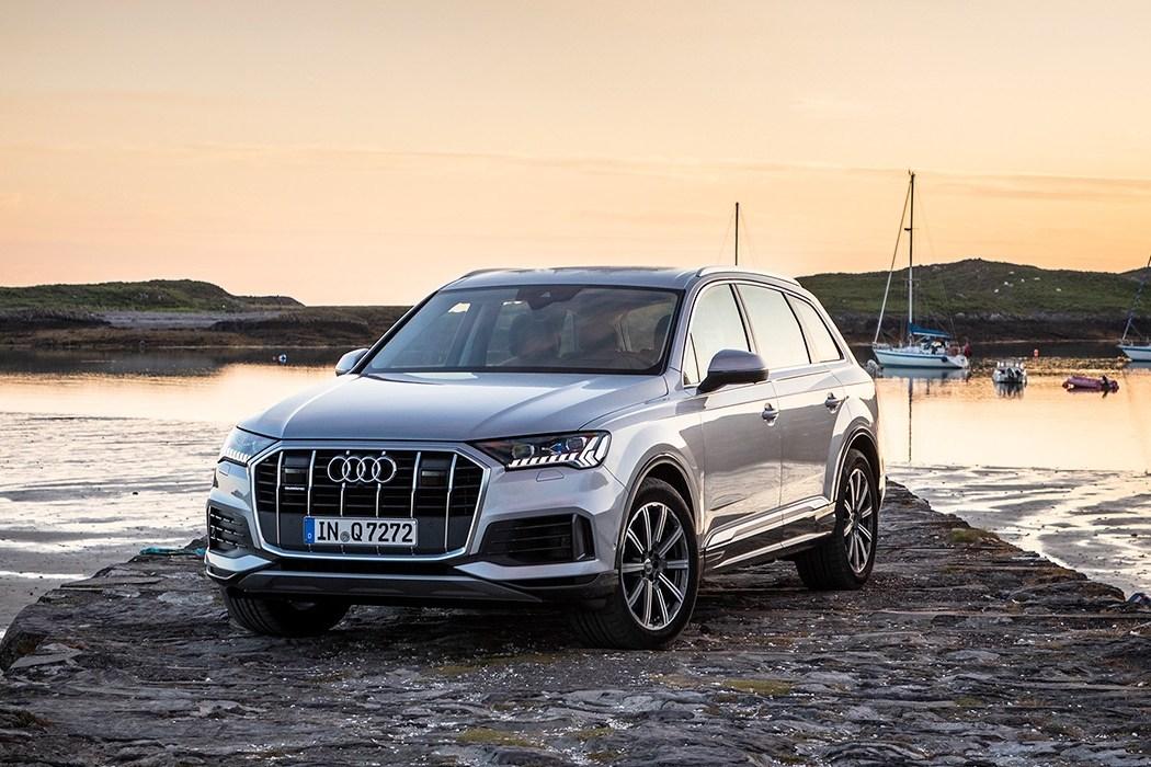 Тест-драйв Audi Q7: На краю радуги