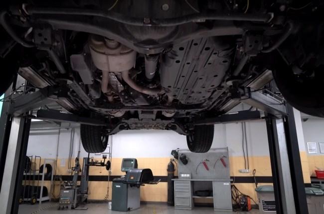 Lexus LX 450d подвеска