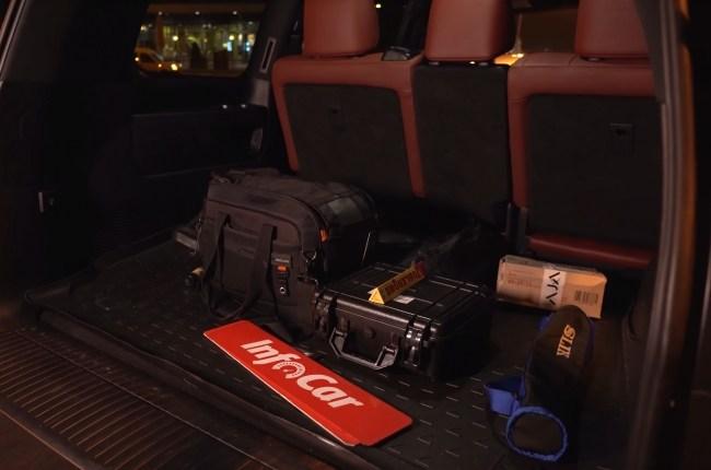 Lexus LX 450d багажник