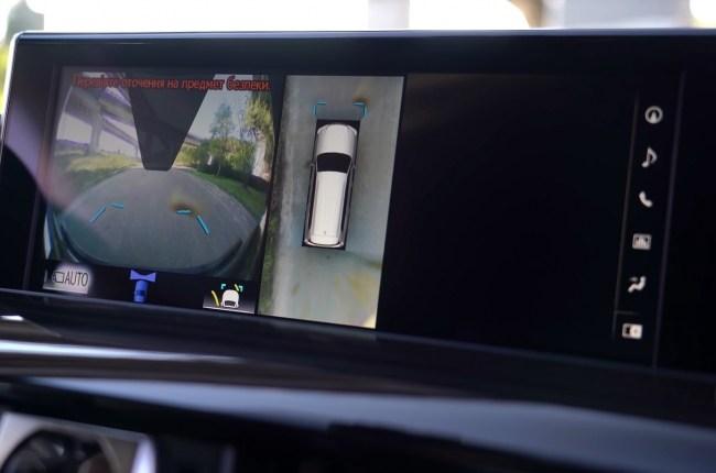 Lexus LX 450d камеры кругового обзора