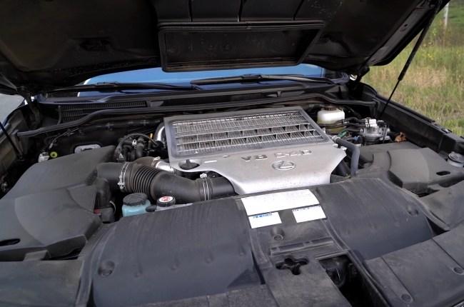 Lexus LX 450d двигатель
