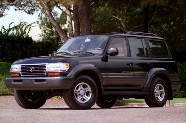 Lexus LX 1996–1998 модельного года