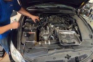 Японская надежность? Мотор Lexus IS F после 350 тыс. режима «тапка в пол»