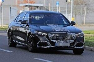 Царь-Эска скоро на дорогах: Mercedes заканчивает испытания S-Class Maybach