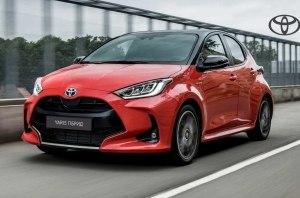 Абсолютно новый Toyota Yaris гибрид