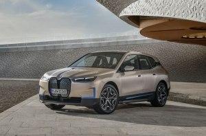 BMW назвала имя первого электрического SUV