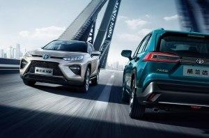 Toyota Wildlander присоединилась к розетке