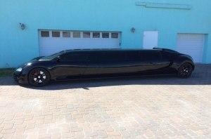 Bugatti Veyron превратили в лимузин