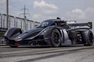 Praga R1: новый гоночный автомобиль