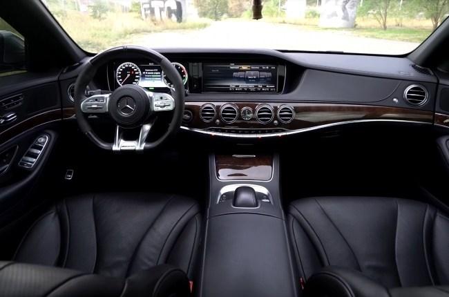 Mercedes S-Class W222 салон