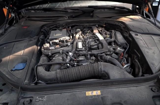Mercedes S-Class W222 двигатель