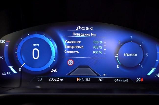 Ford Kuga приборная панель