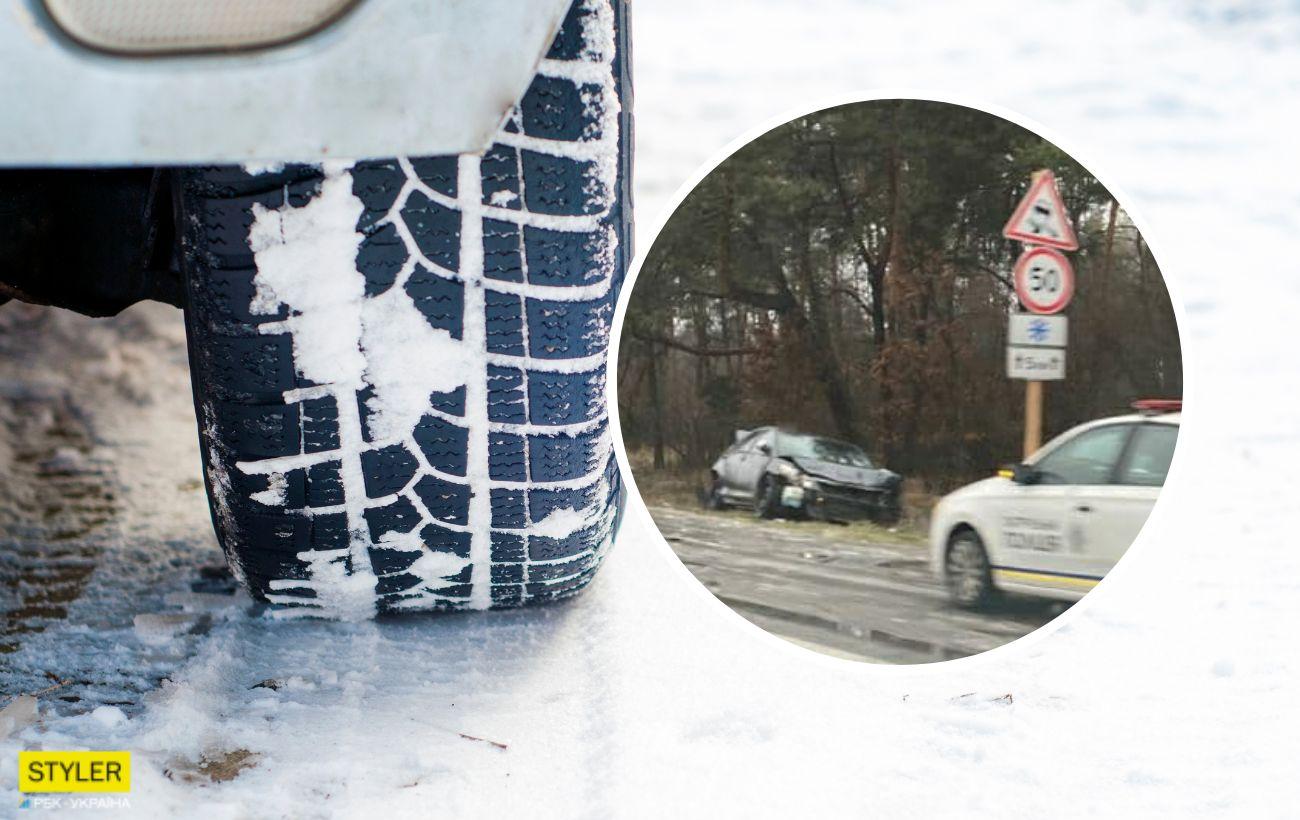 Превратилась в каток: названа одна из самых опасных трасс в Украине (фото)