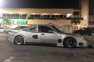 Mercedes CLK GTR «для бедных»