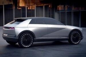 Новый Hyundai Ioniq 5 попал на фото