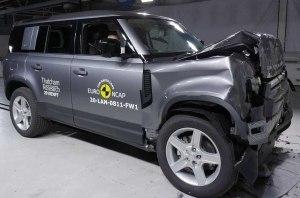 Euro NCAP разбила новый Defender и еще шесть автомобилей