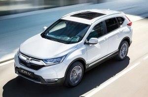 Обновленная Honda CR-V