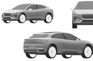 Патентные изображения обновленного Jaguar I-Pace