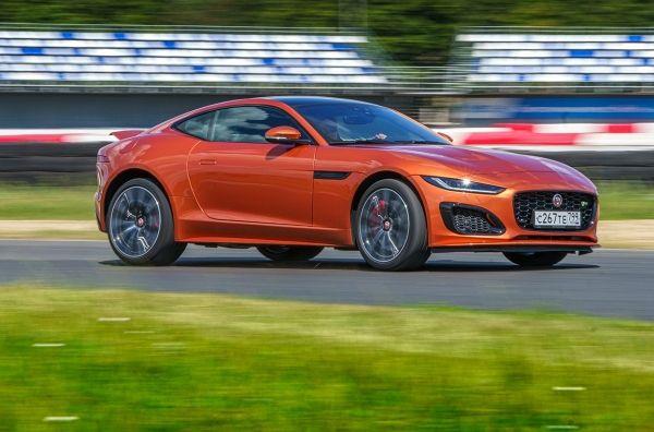 Заводной апельсин: Jaguar F-Type R. Jaguar F-Type Coupe