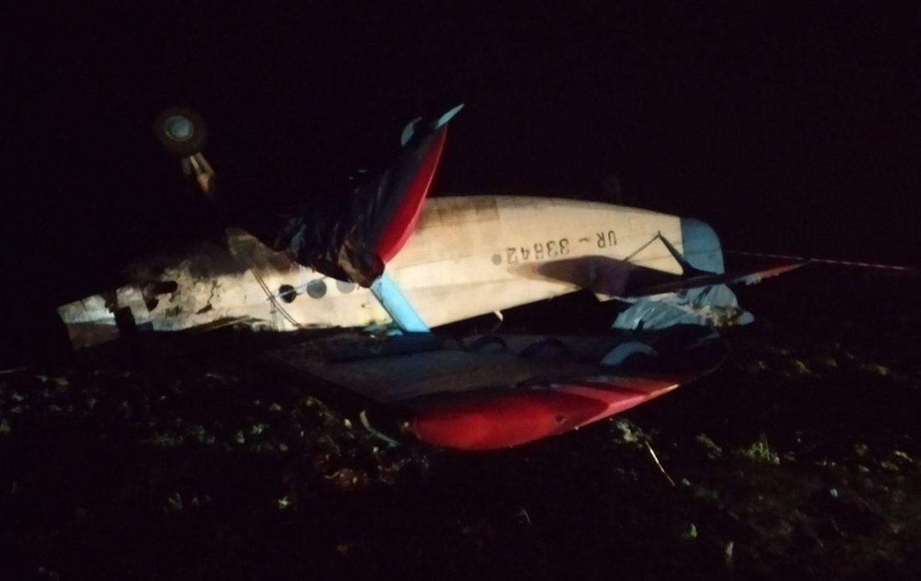 В Тернопольской области разбился самолет, есть жертва
