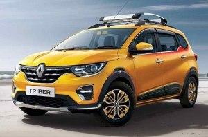 Субкомпактный кроссвэн Renault Triber обновился