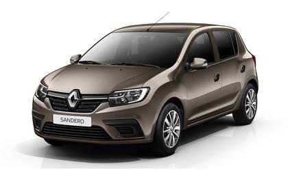 Renault Sandero компактный и экономичный хэтчбек